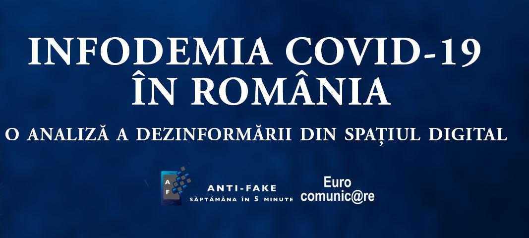 Descarca raportul Infodemia COVID-19 in Romania - o analiza Eurocomunicare